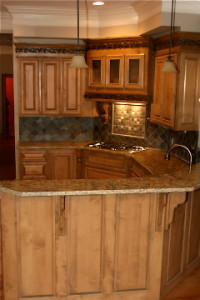 Custom maple kitchen